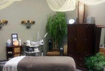 Massage Room Decor
