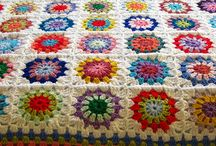 Crochet Afghan / crochet afghans, blankets, and the odd pillow as inspiration and colourful love / by janafalls