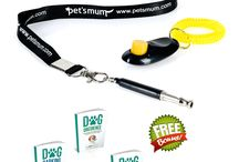 Dog Whistle / Dog whistle to stop barking with free pet clicker by Pet's Mum offer great pet training tool with free fantastic 3 eBooks. Order now on amazon.com.