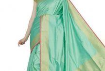Banarasi Handwoven Saris