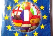 Vaisselle Football Euro 2016 et PSG