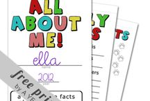 All about me unit / by Amber Talbott