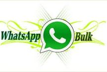 Whatsapp Bulk Sender / Through Whatsapp Bulk Sender, We can send text messages, audio, video, image and vCard messages to even over 1000s of active users simultaneously.