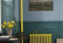 Pipes bright colour