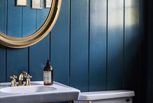 Blue and Gold / Inspiration for your blue and gold interior styling