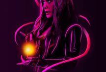 Scarlet witch A.K.A Wanda