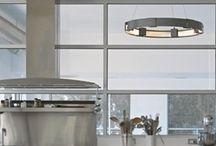 Kitchen Lighting / Kitchens featuring Hubbardton Forge Lighting.