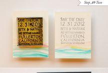 save the date / by Kelcy Bonham