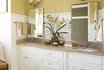 cottage-style bathroom ideas / by Marge Kehrer Redmond