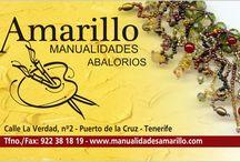 Manualidades Amarillo / creaciones de bisutería y nuestras manualidades