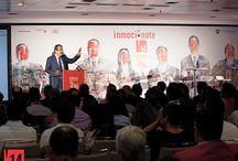 Inmociónate 2014 / Inmociónate es el evento del sector inmobiliario en el que profesionales inmobiliarios aportan su visión y experiencia para afrontar los mercados actuales