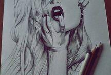 Favorite Draw / Desenhos Favoritos, E Inspirações.