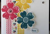 Stampin' Up! ~ Flower Shop