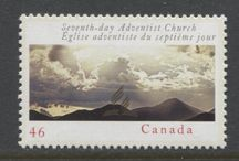 Religion on Stamps / Religion and religious organizations as portrayed on Canada's stamps