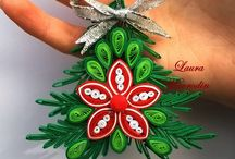 Quilling Christmas