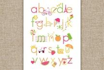 Alphabets for Francesco