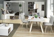 Škandinávsky štýl / Nadčasový, jednoduchý a súčasne útulný. Tento interiérový dizajn zo severu rozhodne nie je chladný, práve naopak vzhľad prírodného dreva a látkové poťahy vytvorí príjemný a hrejivý domov