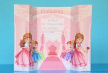 Geburtstags-Einladungen / Einladungen zum Kindergeburtstag, kostenlos ausdrucken und verwenden.