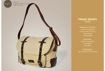 FRANK SERIES / PLEASE VISIT AND LIKE OUR FACEBOOK MOST BAG