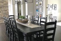 Dining room tables centrepiece