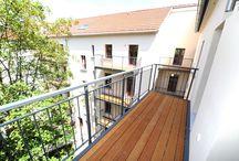 Schöne Balkone