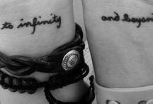 tattoos<3 / by Lindsay Didier