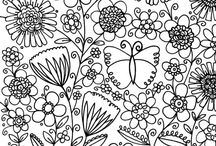 Colouring therapy