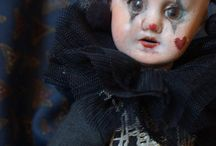Antique collectible porcelain doll
