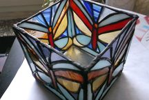 stained glass candels / 45GBP