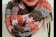 SHAWL AND COWL AND SCARF