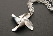 Silver Clay Curious - Pendants