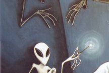 UFO & Alien Art