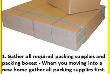 Tips on Packing and Moving Into a New Home / Moving home is a stressful time for all of us and it is like a challenge. If you organize early before moving then you can reduce your stress. Here are some tips for packing before moving to a new home and make your moving stress free:- http://supercheapboxes.blogspot.in/2015/07/tips-on-packing-and-moving-into-new-home.html