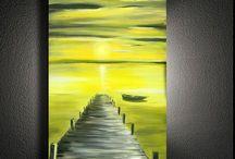 Brücke malen