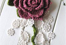 Crochet flowers, hearts & appliques / Crochet flowers, hearts & appliques / by Nadin Kolganova