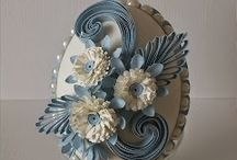 Quilled eggs / by Patricia Hayes