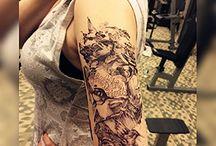 Tatouage temporaire / Tatouage temporaire éphémère pour tester avant de se faire tatouer