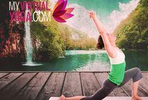My Virtual Yoga poses