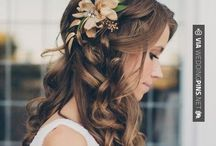 Hairstyles / Hairstyles for the bride