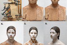 drevorezba / statue, wood carving