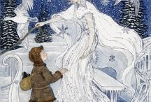 Illustrations ... Story ... Snow Queen