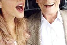 ariana grande met opa
