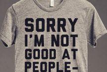 Statement t-shirts