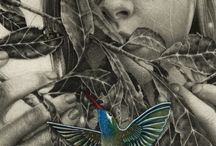Girl With Bird / Girl with Bird