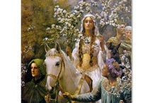Arthurian Legends, Avalon &Camelot  / by Peggy Barr