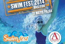Geleceğin şampiyon yüzücüleri anneleri için yarışacak