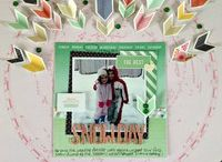 Scrapbook pages / Beautiful pages to inspire and scraplift.