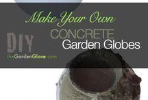Concrete garden