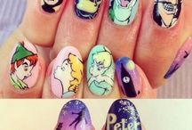 Disney Peter Pan Art Nails
