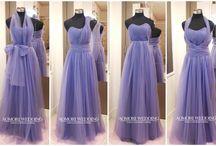 Bridesmaid dresses / Convertible bridesmaid dresses